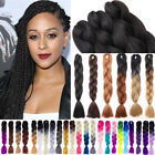 dark blonde hair ombre - Blonde Ombre Kanekalons Jumbo Braiding African Synthetic Braids Hair Extensions