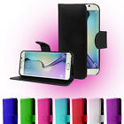 Magnetic Book Wallet Flip Holder Leather Case Cover For Samsung Galaxy S6 Edge