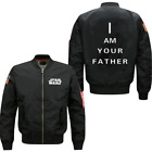 Detective Incredible Star Wars spring autumn men leisure Air Force pilots jacket