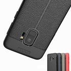Samsung Galaxy S9/S8/Plus/Note 8 Slim Shockproof Leather Back Case Protect Cover