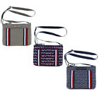 Tommy Hilfiger Purse Womens Crossbody Shoulderbag Adjustable Strap Zipper Close