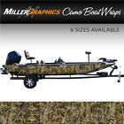 "Fish Camo Boat Wrap Kit ""Walleye"" 3M Cast Vinyl - 6 Sizes Available"