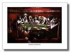 Dogs Play Poker #3 Sympathy Cassius Coolidge Wall Art Print Picture