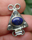 Box Clasp Sterling Silver Double Strand Lapis Gemstone varied style/prices