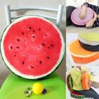 Round Fruits Cushion Pillow Indoor Home Kitchen Office Chair Sofa Seat Pads