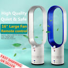 """AirFlow Cooling Bladeless Fan Cool Cooling 16""""Low db For Kid Safety Baby Sleep"""