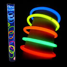Glo Glow Sticks Bracelets 12 Glow In The Dark Party Rave Necklace Light Up Fun