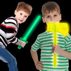 Glo Sticks Sword Axe Toy Pairs Glow In Dark Party Festival Light Up Concert Kids