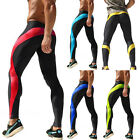 Mens Compression Pants Base Layer Skin Tights Running Yoga Workout Gym Sports UP