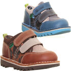 12762 Kickers Kick Racer Kids Suede Leather Shoes