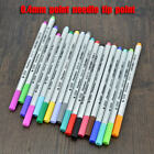 0.4mm Colorful Needle Tip Point Pen Cartoon Hook Pen Deco Scrapbook Card Making