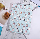 Lovely Cute Unique Cartoon Cat Painted Cover Case for iPad Mini Air 1 2 3 4 2017