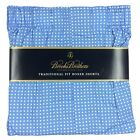 Brooks Brothers Traditional Fit Boxer Shorts Underwear Blue White Cotton Boxers
