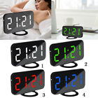 Digital Alarm Clock with Dual USB Charging 3 Level Dimmable Backup Battery