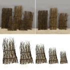 reed bamboo fence - Garden Divider Screening Border Bamboo Slat Willow Reed Brushwood Fence Roll