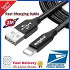 6ft USB Charger Cable Data Cord for iPhone 5 iPhone 6 6s iPhone 7 Plus 8 X