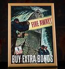 WW2+US+Navy+American+Propaganda+Poster+-+Fire+Away%2C+War+Bond+Poster%2C+Military