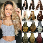 Ladies 25 Long Straight Half Wig Synthetic Heat Resistant Natural 3 4 Full Wigs