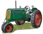 Oliver Model 70 Row Crop farm tractor canvas art print by Richard Browne