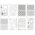 Transparent Silicone Clear Rubber Stamp Cling Diary Scrapbooking DIY Multi-style