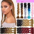 black red purple hair - 1Pc Kanekalon Ombre Synthetic Jumbo Braiding Hair Extension Afro Twist Braids PF