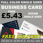 BUSINESS CARD FULL COLOR SINGLE SIDED