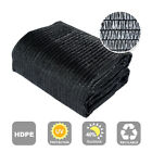 Agfabric 40% Sunblock Shade Cloth Cover with Clips for Plants Black