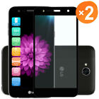 For LG X Charge/X Power 2/Fiesta LTE Full Cover Tempered Glass Screen Protector
