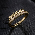 Small Elephant Ring Zircon Tail Ring Jewelry Silver Animal Rings For Lady