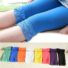 Leggings 6-11 Year Candy Color Girls Toddler Lace Hook Pants