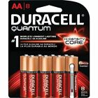 Duracell Quantum General Purpose Battery - Aa - Alkaline - 1.5 V Dc - 8 / Pack