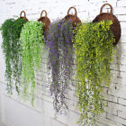 Artificial Fake Silk Flower Vine Hanging Garland Plant Home Garden Wedding Decor