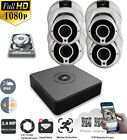 HIKVISION CCTV DVR 4CH HDTVI 1080P IR Outdoor NightVision Home Security Kit HDD