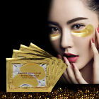 5/10 Pairs Gold Moisturizing Skin Care Gel Collagen EYE Hydrating Face Masks New