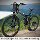Men's  Electric Fat Tire Bike Beach Snow Bicycle Fatbike City e-bike Fat Tire