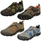 Boys Merrell Air Cushioning Z-Strap Synthetic & Textile Trainers Waterpro Z-Rap