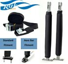 RUK Car Roof Rack PADDED UPRIGHT BARs for KAYAK BOAT SUP CANOE + Aero Bar Option