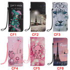 cf card slot - Eiffel Tower Flip Stand Card Slots Wallet Cover Case For Samsung NOTE8 S9Plus S8