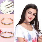 Rainbow Choker Necklace Gay Pride LGBT Clavicle Chain Ribbon Simple Necklace TOP