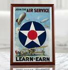 WW1+US+Propaganda+Poster+-+Join+The+Air+Service%2C+Recruiting+Poster%2C+Air+Force