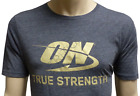 OPTIMUM NUTRITION SHORT-SLEEVE T-SHIRT (GOLD LOGO) [GRAY] gold standard tee on image
