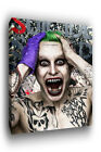 The Joker Suicide Squad Movie Canvas Print - Abstract Art CANVAS A0 A1 A2 A3 A4