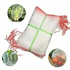 Agfabric Insect Screen Garden Netting Bags against Bugs, Birds & Squirrels White