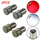 2x P21/3w 1157 Bay15d 50 Led 1206smd 3w Car Stop Brake Tail Light Bulb Red/white