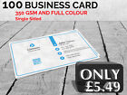CHEAP BUSINESS CARD SINGLE SIDED
