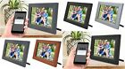 """iCozy Digital Touch-Screen 10"""" Picture Frame with Wi-Fi - All Colors - NOB"""