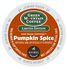 Green Mountain Pumpkin Spice Coffee 24 to 144 K cups Pick Any Quantity FREE SHIP