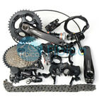 New 2018 Shimano Deore M6000 Groupset 2/3x10-speed 11-42t 170/175mm Disc Brake