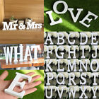 26 Wooden Freestanding Letters A-Z Alphabet Wedding Party Home Shop DIY Decor
