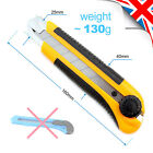 Utility Snap off Cutter BIG STRONG 25mm Retractable Aluminium Alloy  ABS & Metal